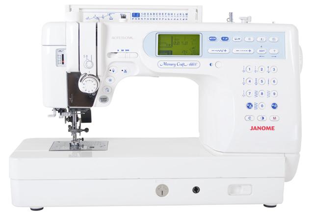 Janome memory craft 6600p naaimachine for Janome memory craft 6600p