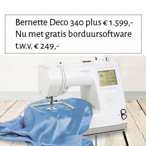 Bernette Deco 340 plus