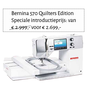 Bernina 570 Quilters Edition