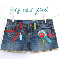 Gratis workshop pimp je jeans tot een hot pants