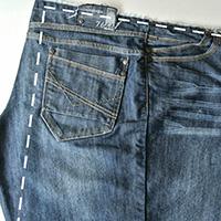 Recycle je  jeans naar…….