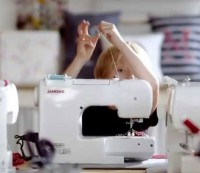 Janome Sew Mini Platinum kindernaaimachine