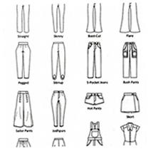 Patroonteken Special broeken & pantalons