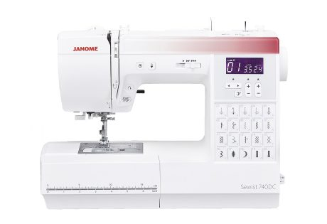 Janome sewist 740DC schuring naaimachines