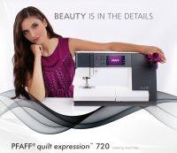 Pfaff quilt expression 720 Schuring-naaimachines