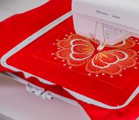 Husqvarna viking designer brilliance 80 Schuring naaimachines