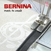 Bernina Academy! 'Bernina sterk met stof'