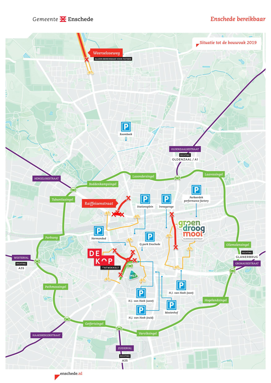 Kaart-Enschede-bereikbaar-zomer-2019
