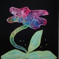 Art quilten: textiel schilderij