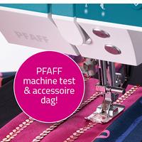 Grote Pfaff accessoire en machine testdag! Geannuleerd!
