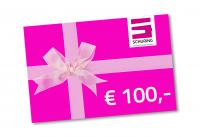 Cadeaubon Schuring 100,-