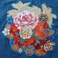 Art Quilt Xperience 'Dress up with flowers'