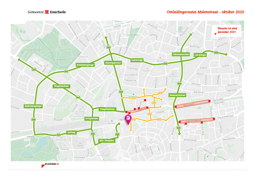 Schuring-kaart-omleiding-molenstraat