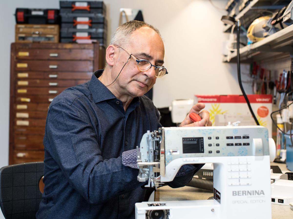 Reparatie naaimachine in Haaksbergen | Schuring naaimachines
