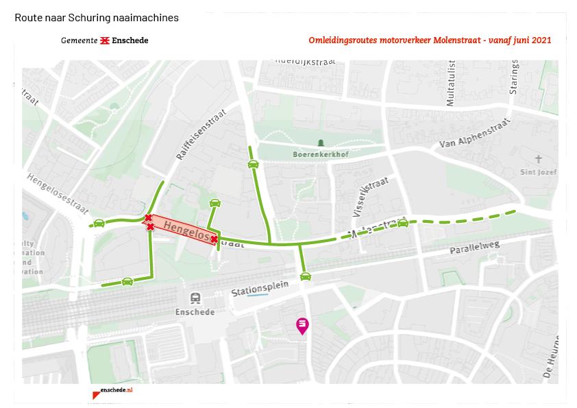 Schuring-omleiding-juni-2021